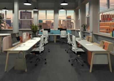 Büro Stuhl Tisch by famos 1080-675