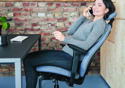Der Individualist unter den Bürostühlen.