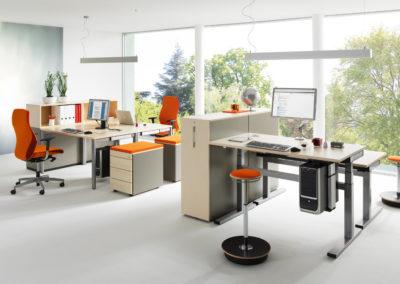 Ergonomie im Büro Nowy Styl by famos