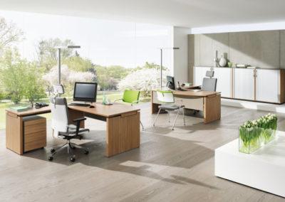 Büroeinrichtung by famos
