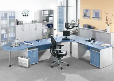 Schreibtisch-Ecke by famos