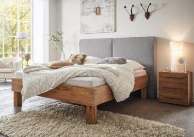 Bett für Große H